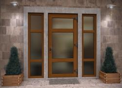 Алюминиевые двери в Ижевске