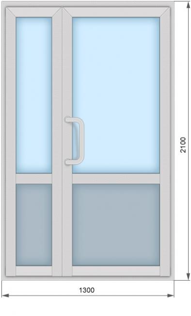 «Холодные» алюминиевые окна и двери